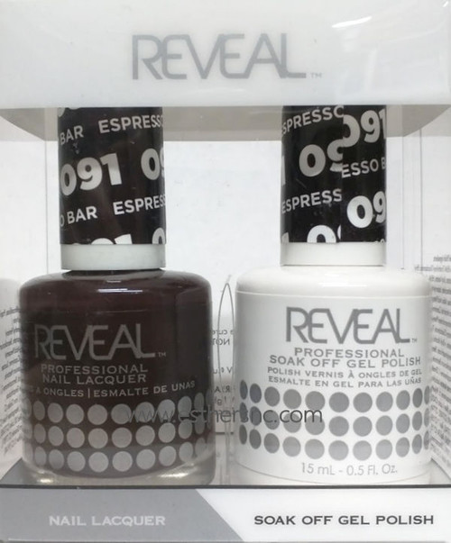 Reveal Gel Duo Espresso Bar #091