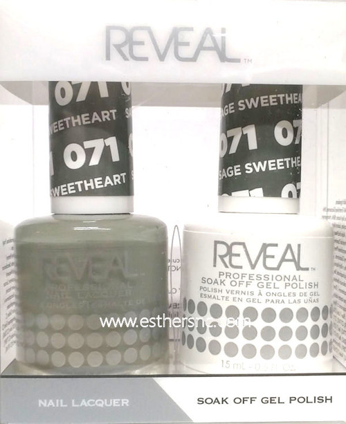 Reveal Gel Sweetheart Sage #071