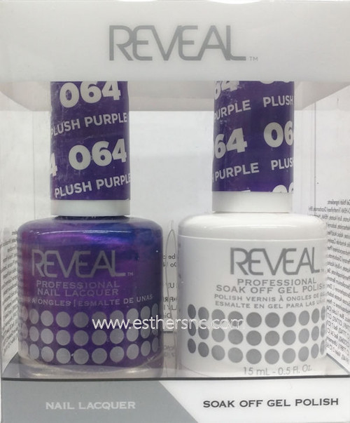 Reveal Gel Plush Purple #064