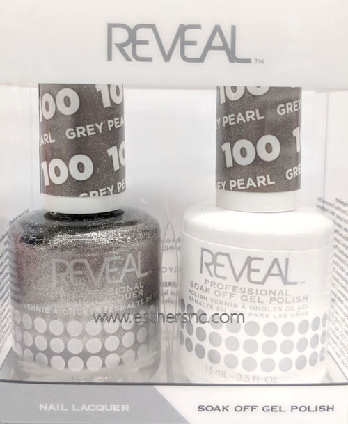 Reveal Gel Grey Pearl #100