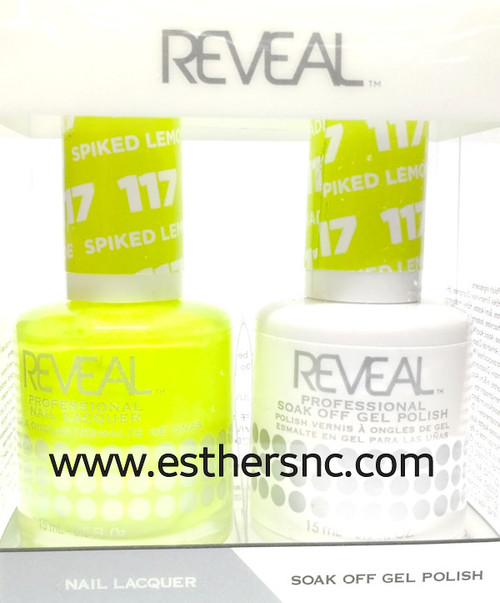 Reveal Gel Spiked Lemon #117