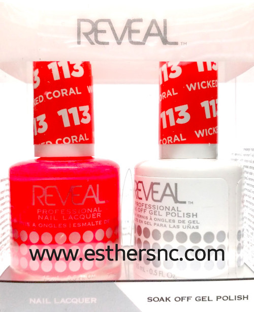 Reveal Gel Wicked Coral #113