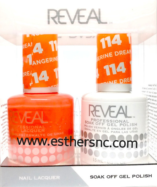 Reveal Gel Tangerine Dream #114