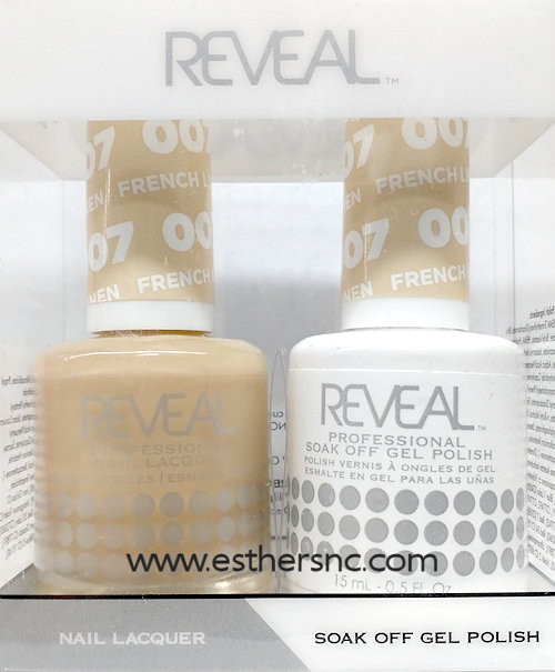 Reveal Gel Polish French Linen #007