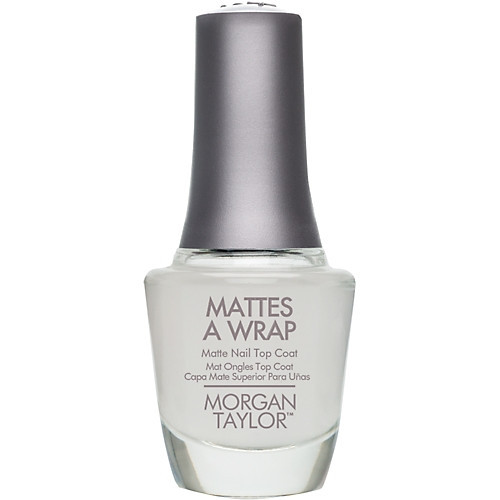 Morgan Taylor Mattes A Wrap Top Coat