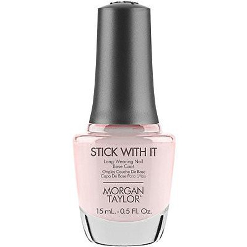 Morgan Taylor Stick With It Base Coat
