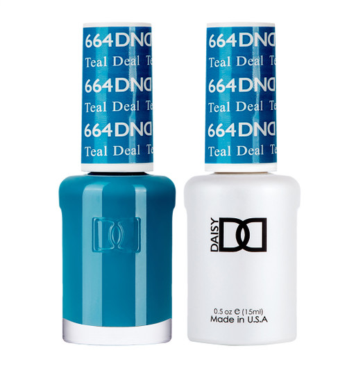 Daisy Gel Polish Teal Deal 664