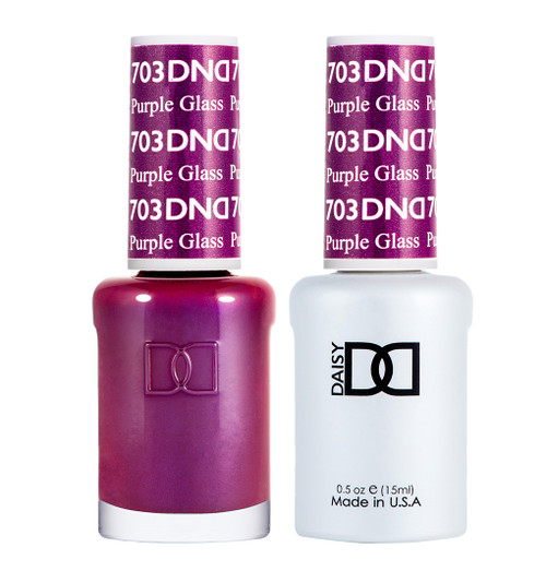 Daisy Gel Polish Purple Glass 703