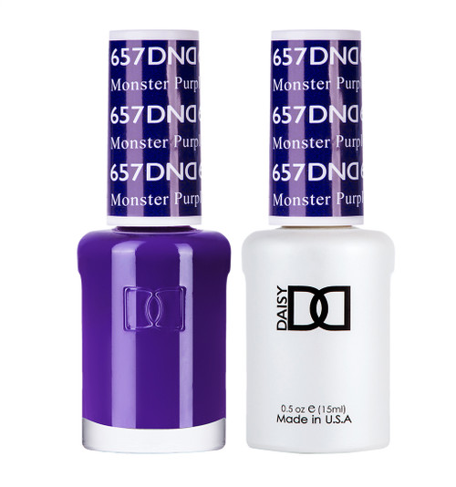 Daisy Gel Polish Monster Purple 657