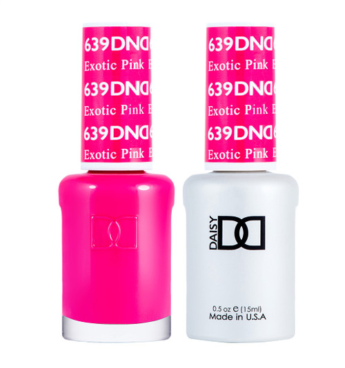 Daisy Gel Polish Exotic Pink 639