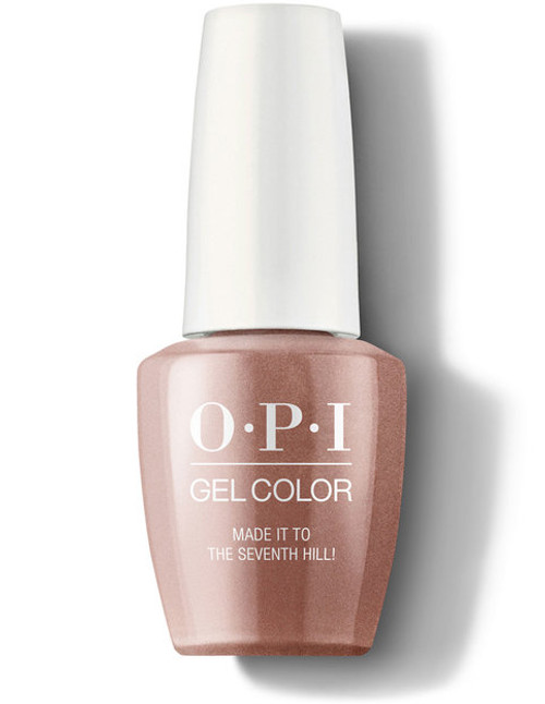 OPI GelColor Made It To The Seventh Hill!