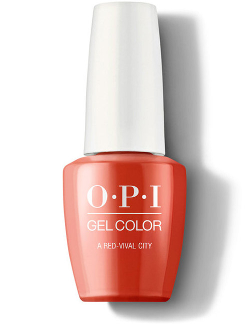 OPI GelColor A Red-Vival City