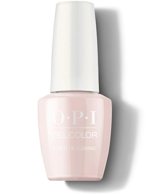 OPI GelColor Stop It I'm Blushing