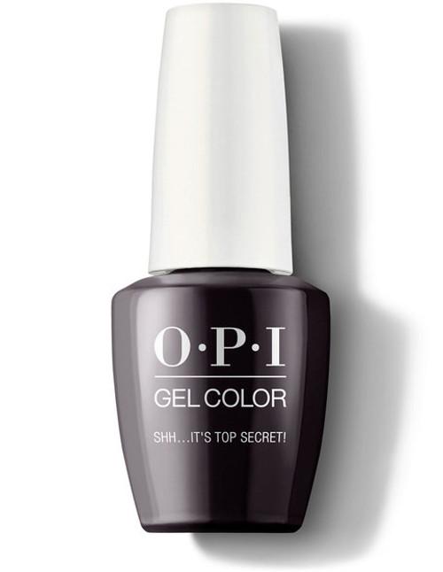 OPI GelColor Shh...It's Top Secret!