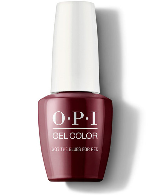 OPI GelColor Got The Blues For Red