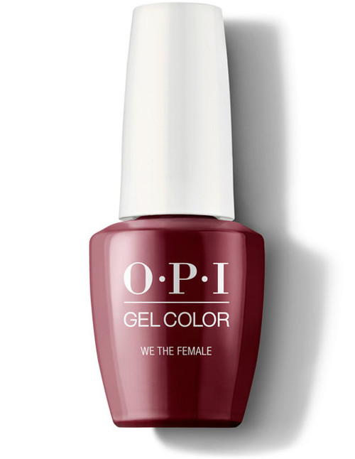 OPI GelColor We The Female