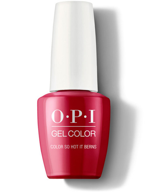 OPI GelColor Color So Hot It Berns