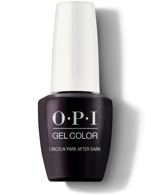 OPI GelColor Lincoln Park After Dark