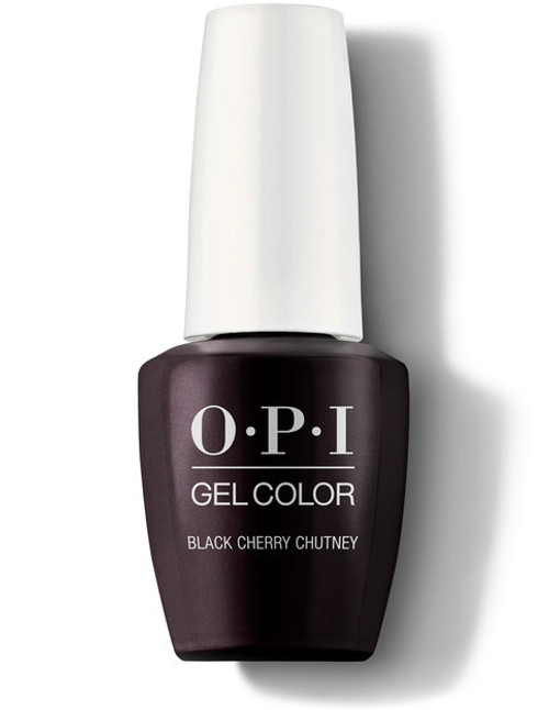 OPI GelColor Black Cherry Chutney