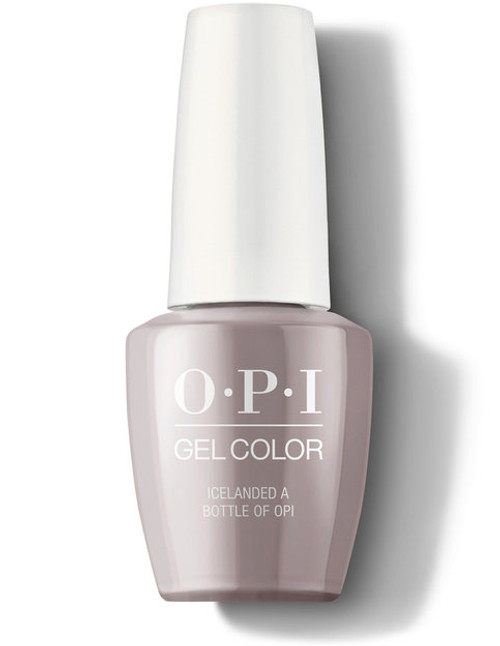 OPI GelColor Icelanded A Bottle Of OPI