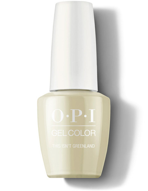 OPI GelColor This Isn't Greenland