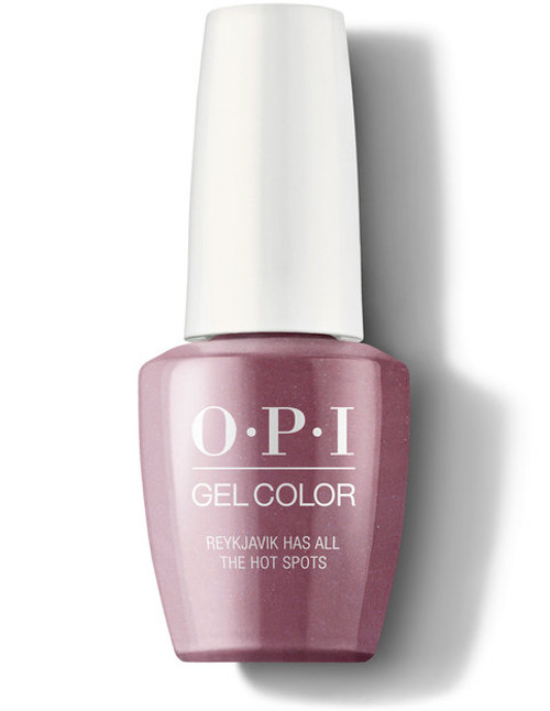 OPI GelColor Reykjavik Has All the Hot Spots