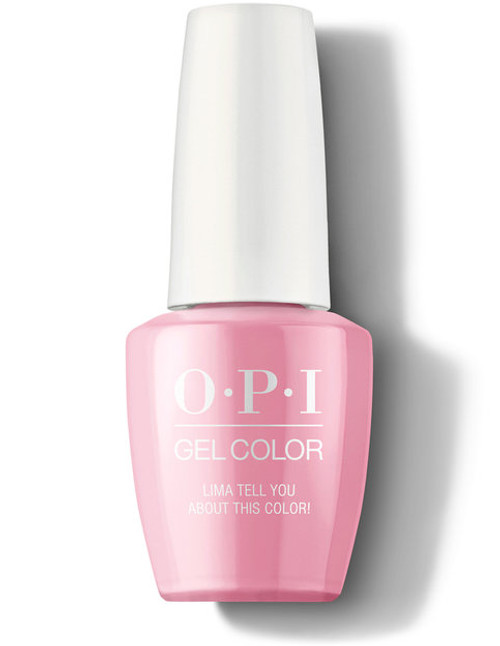 OPI GelColor Lima Tell You About This Color