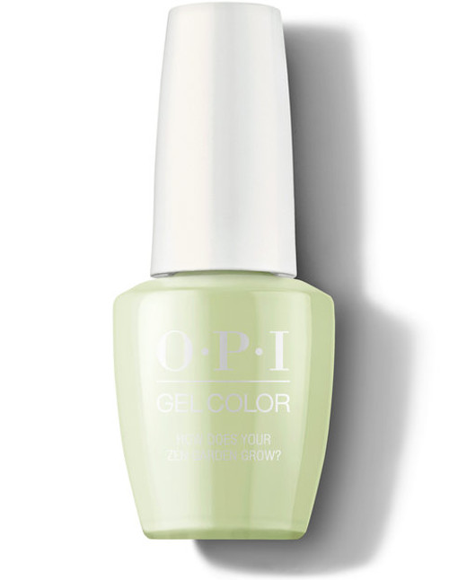 OPI GelColor How Does Your Zen Garden Grow?