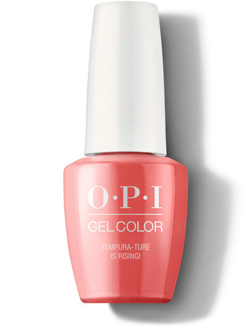 OPI GelColor Tempura-ture is Rising!