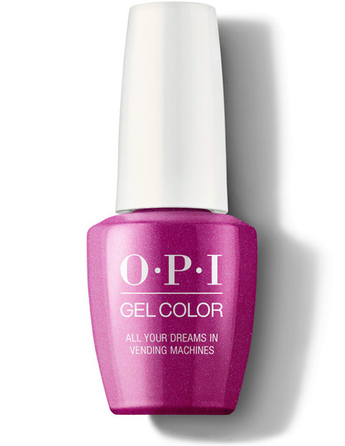 OPI GelColor All Your Dreams In Vending Machines