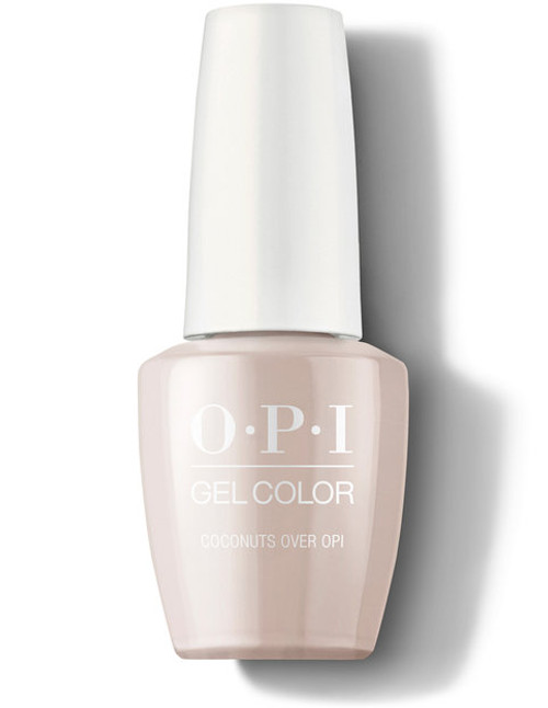 OPI GelColor Coconuts Over OPI