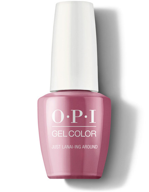 OPI GelColor Just Lanai-ing Around