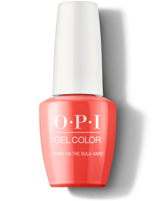 OPI GelColor Living on the Bula-Vard!