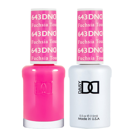 Daisy Gel Polish Fuchsia Touch #643