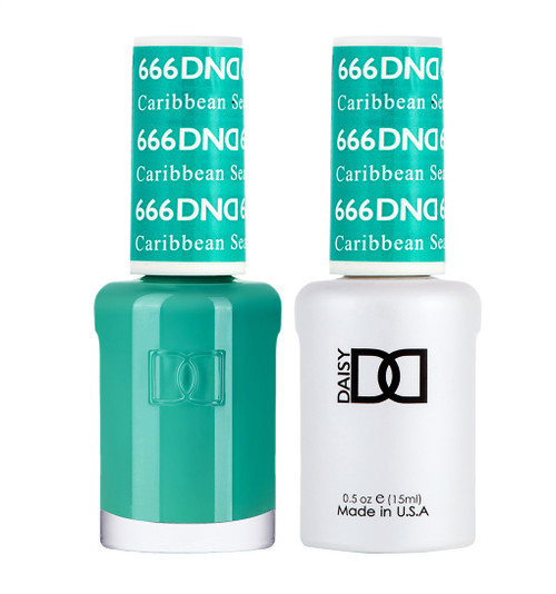 Daisy Gel Polish Caribbean Sea #666