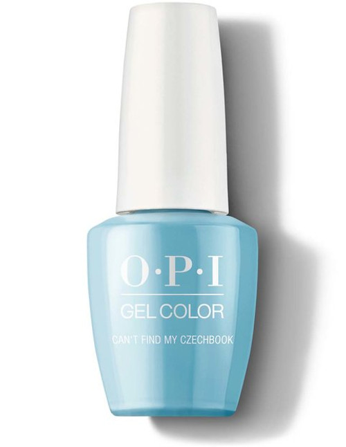 OPI GelColor Can't Find My Czechbook