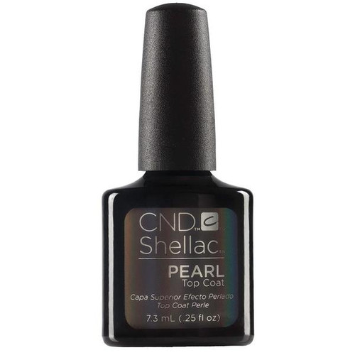 CND Shellac Pearl Top Coat .25oz
