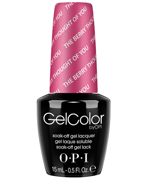 OPI GelColor The Berry Thought Of You
