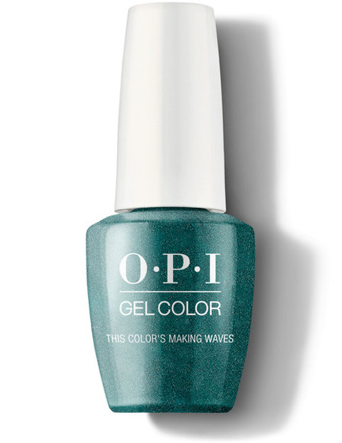 OPI GelColor This Color's Making Waves