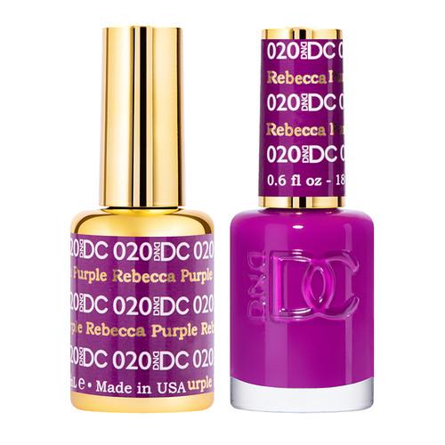Daisy DC Gel Rebecca Purple #020