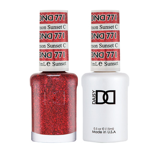 Daisy DND Gel Crimson Sunset #771