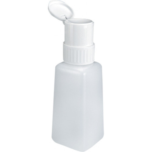 Twist-Lock Pump Dispenser Bottle for Nail Liquid