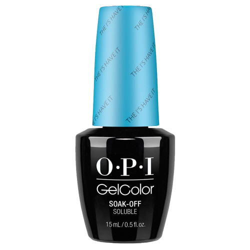 opi gelcolor The I's Have It