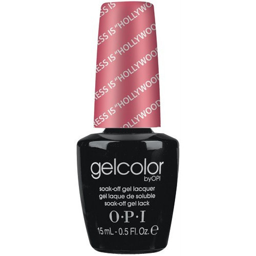 opi gelcolor my address is hollywood