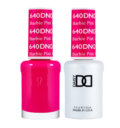 Daisy Gel Polish Barbie Pink #640