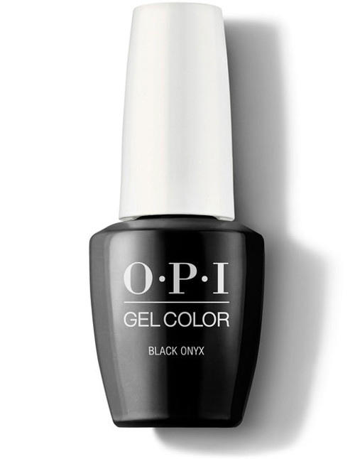 OPI GelColor Black Onyx