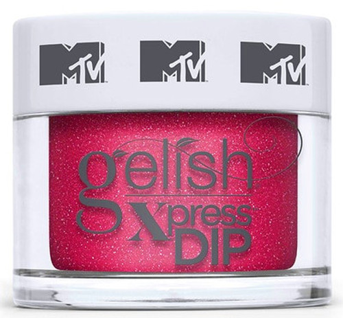 Gelish DIP POWDER Xpress Total Request Red