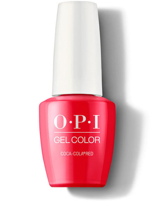 OPI GelColor Coca-Cola® Red