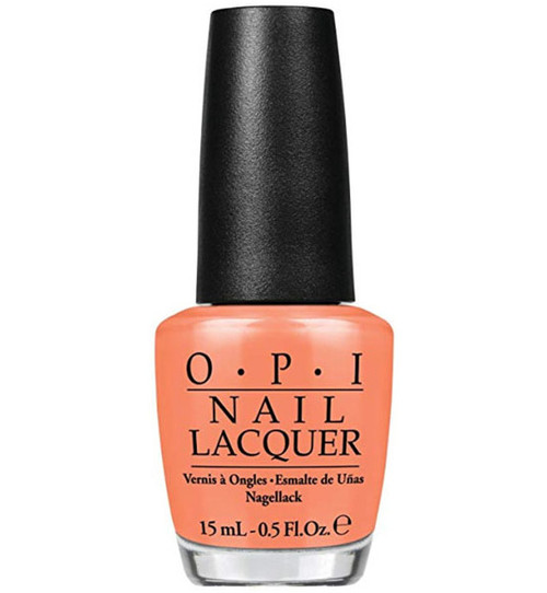 Opi Nail Lacquer Is Mai Tai Crooked?