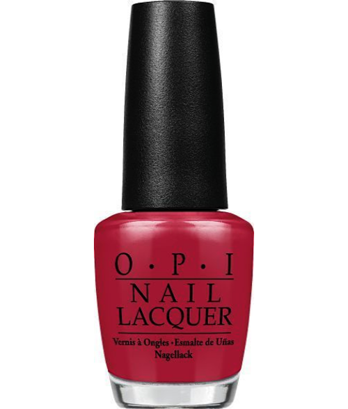 OPI Nail Lacquer Chick Flick Cherry